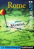 Rome, anthologie bilingue