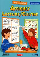 Affiches lecture cuisine