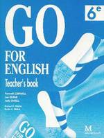 Go for English 6e / Livre du professeur (Afrique centrale), teacher's book