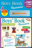 Boys' Book Vacances - Du CM1 au CM2