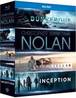 Coffret Christopher Nolan : Dunkerque+interstellar+inception