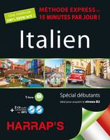 Harrap's Méthode Express Italien 2CD+livre