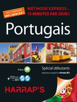 Harrap's méthode express Portugais 2 CD+livre