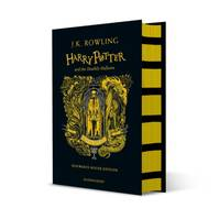Harry Potter and the Deathly Hallows T.07 Harry Potter (Hufflepuff hardcover)