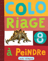 COLORIAGE A PEINDRE DINOSAURES N.8