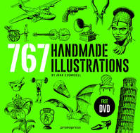 Handmade illustration 767 illustrations vintage