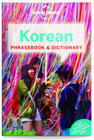 Korean Phrasebook and Dictionary - 6ed - Anglais