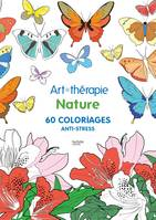 Nature, 60 coloriages anti-stress