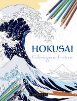 Hokusai coloriages anti-stress
