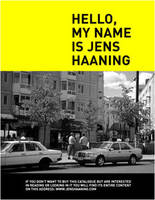JENS HAANING - HELLO MY NAME IS JENS HAANING