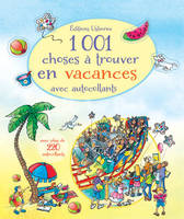 1001 choses à trouver en vacances - Autocollants Usborne