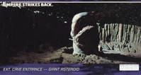 Star Wars - Topps - Empire Strikes Back - Widevision - #66 Ext. Cave Entrance - Giant Asteroid