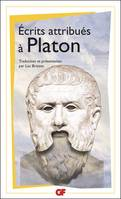 Écrits attribués à Platon