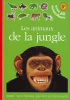 Les animaux de la jungle, avec 60 autocollants