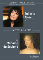 Lettres A Sa Fille - 1 Cd Mp3 - Audio