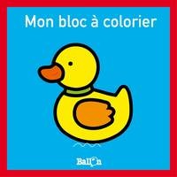 Mini bloc à colorier - Canard