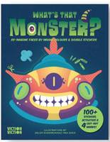WHAT'S THAT MONSTER? /ANGLAIS