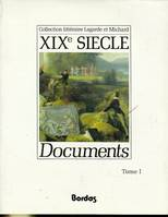 DOCUMENTS 19E TOME 1 - VOL01