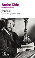 Journal, Une anthologie (1889-1949)