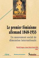 Le premier féminisme allemand (1848-1933), Un mouvement social de dimension internationale