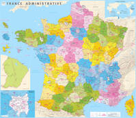 France administrative plastifiee 1/1m