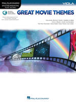 Great Movie Themes - Viola, Instrumental Play-Along