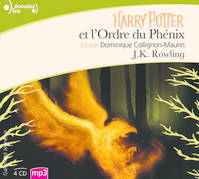Harry Potter et l'ordre du Phenix : 4 CD Mp3, Harry Potter et l'Ordre du Phénix