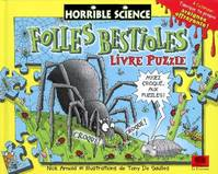 Horrible science, Folles bestioles : livre-puzzle