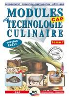 Modules de technologie culinaire , Version élève, Vol. 1