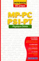 Physique-chimie MP-PC-PSI