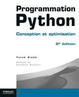 Programmation Python, Conception et optimisation