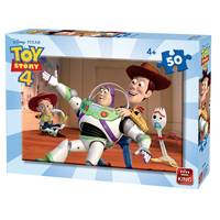 PUZZLE 50 PCS TOY STORY ASS 2 +4ANS
