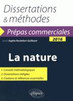 Dissertations & méthodes : la nature 2016