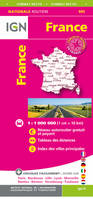 901 FRANCE ROUTES AUTOROUTES MAXI FORMAT RECTO