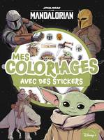 Star Wars / The Mandalorian : mes coloriages avec des stickers