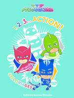 1,2,3… Action !, Coloriages