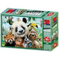SUPER 3D PUZZLE - SELFIE ZOO 63 PCS