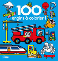 100 images à colorier engins