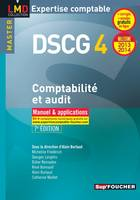 DCG, 4, DSCG 4 Comptabilité et audit manuel et applications 7e édition Millésime 2013-2014, manuel & applications