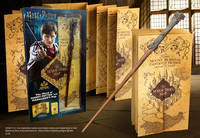 Coffret Baguette Harry Potter + carte Maraudeur
