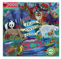 Planet Earth Puzzle rond 500 pièces