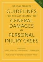 Guidelines for the Assessment of General Damages in Personal Injury Ca