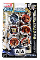 Fantastic Four Future Foundation - Dice & Token Pack