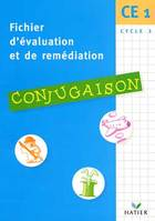 Fichier d'Evaluations et de Remédiations - Conjugaison CE1, conjugaison, CE1, cycle 2