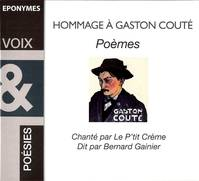 HOMMAGE A GASTON COUTE