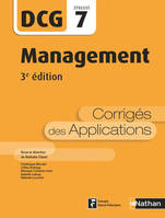 Management - DCG 7 - Corrigés