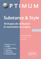 Substance & style, 30 étapes de civilisation et expression en anglais