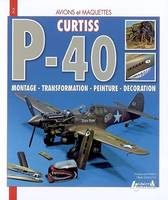 Curtiss P-40 Warhawk, montage, transformation, peinture, décoration