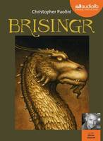 Eragon 3 - Brisingr, Livre audio 3 CD MP3 - Livret 4 pages