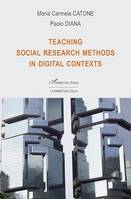 Teaching social research methods in digital contexts